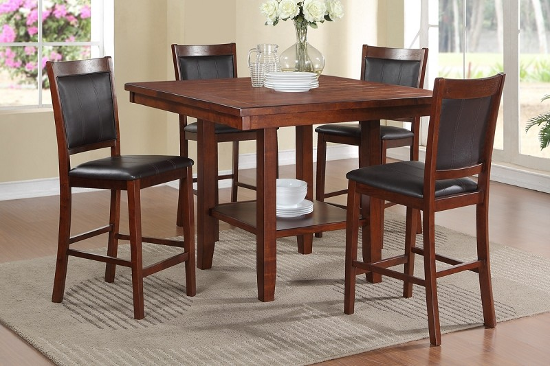 POUNDEX, 5 PCS DINETTE SET, F2264, F1387