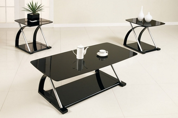 POUNDEX, 3PC SET TABLES, 1COFFEE TABLE+2END TABLES, F3092