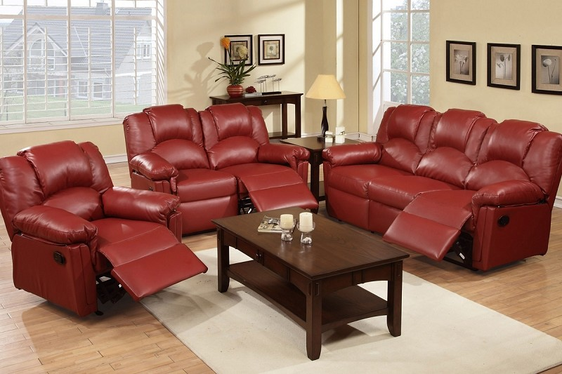 POUNDEX 2PCS MOTION SOFA + LOVESEAT, F6677, F6678