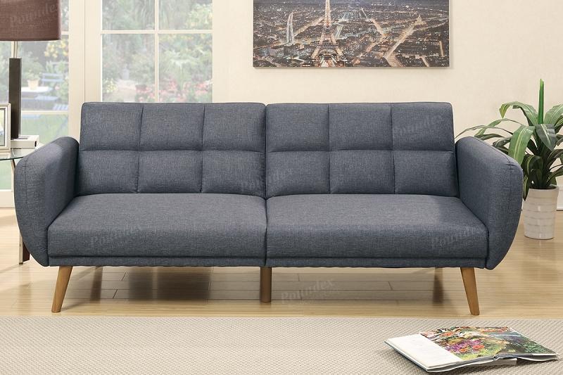 leather sofa poundex cupboard brown bonded dark sets best room furniture living