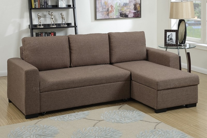 POUNDEX, 2 PCS PULL OUT SOFA SLEEPER WITH STORAGE, F6932