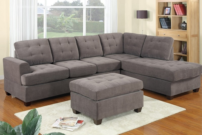 POUNDEX 2 PCS SECTIONAL (OTTOMAN SOLD SEPARATELY), F7137