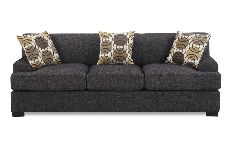 POUNDEX, SOFA ASH BLACK, F7447