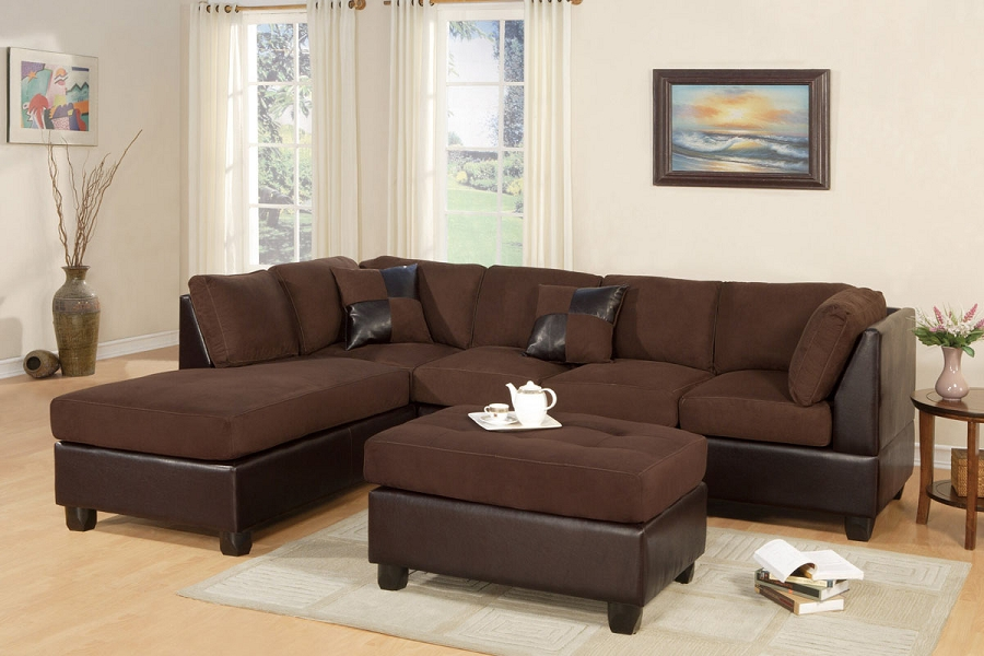 POUNDEX  3 PCS SECTIONAL, F7615