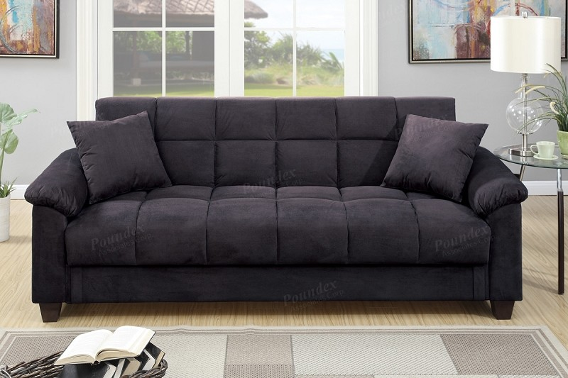POUNDEX ADJUSTABLE SOFA W/STORAGE, F7888