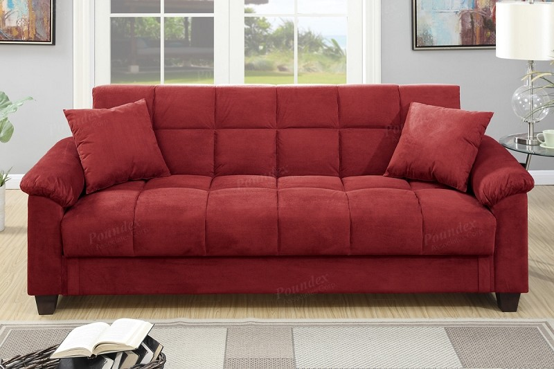 POUNDEX ADJUSTABLE SOFA W/STORAGE, F7890