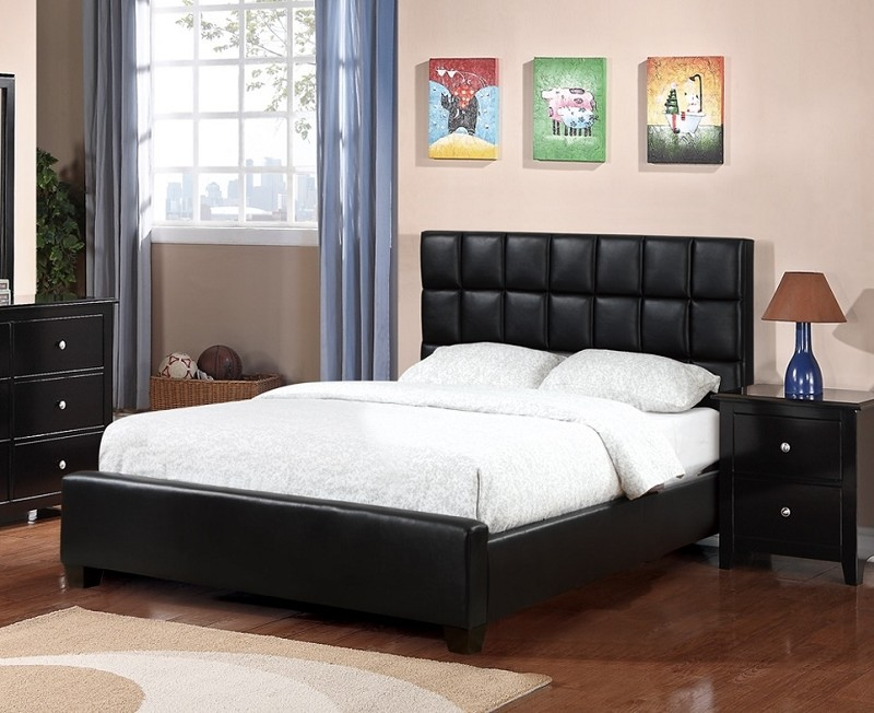 POUNDEX QUEEN BED, F9261