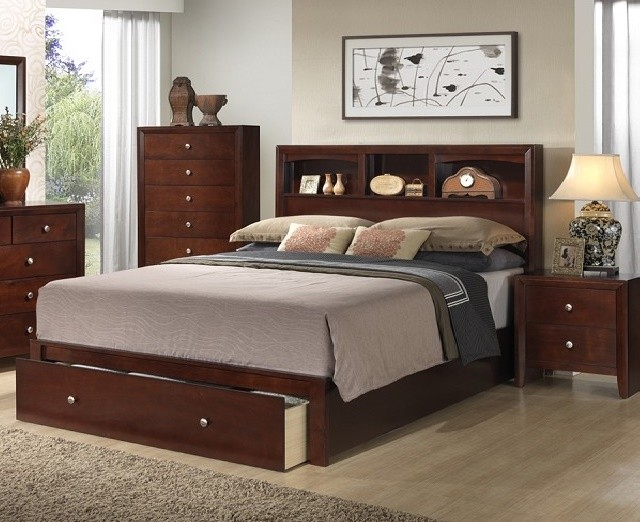 POUNDEX QUEEN BED, F9282Q