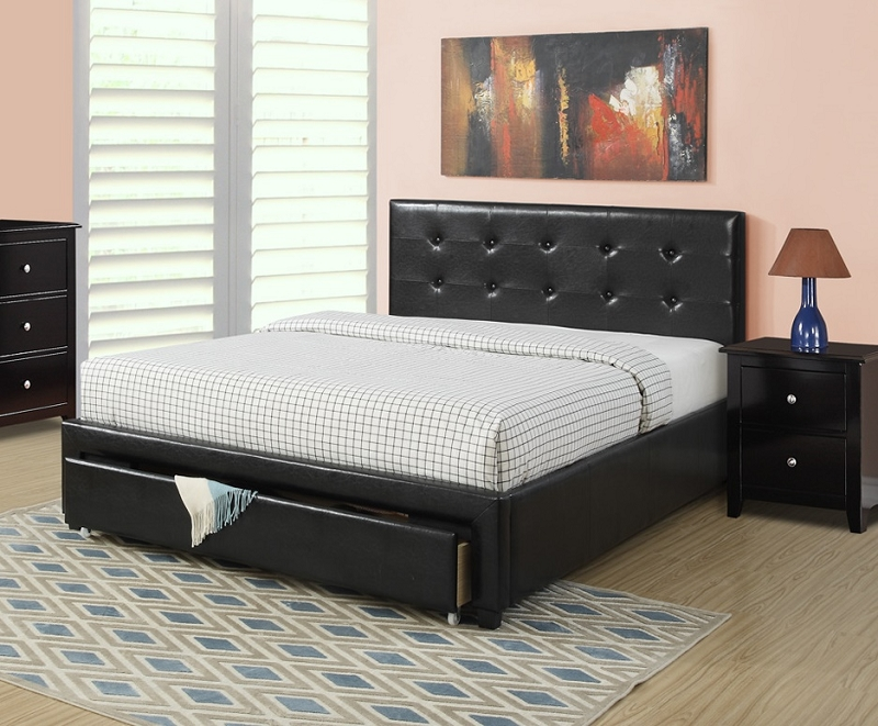 Poundex Queen Bed F9313