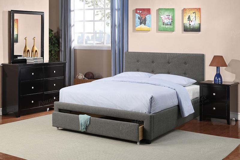 Poundex Queen Bed F9330