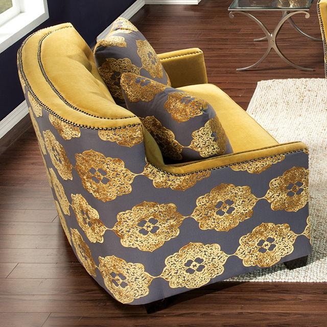 Love Seat Gold