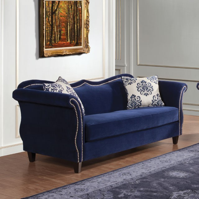FURNITURE OF AMERICA, SOFA  ZAFFIRO, SM2231-SF