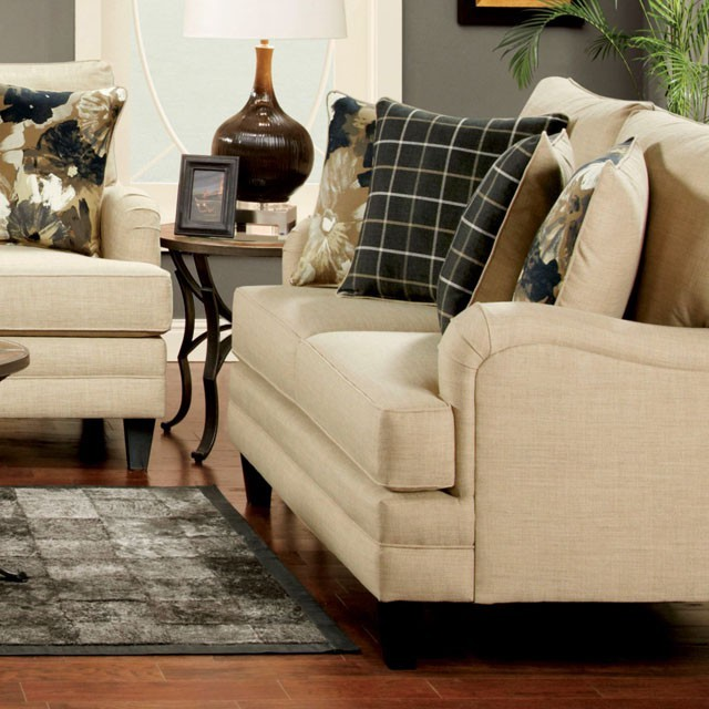 FURNITURE OF AMERICA, MARSALIS LOVE SEAT  IVORY, SM8900-LV