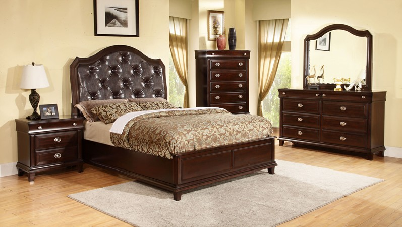 ASIA DIRECT, 6 PCS BEDROOM SET QUEEN SIZE, TARA