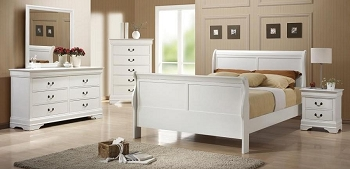 COASTER,  BEDROOM SET QUEEN BED+1NS+DRESSER+MIRROR, 204691Q-S4