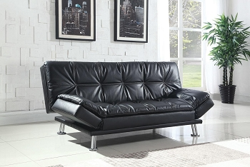 SOFA BED BLACK. 300281