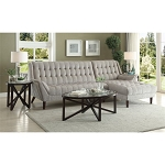 NATALIA SECTIONAL DOVE GRAY, 503777