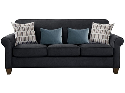 COASTER,  GIDEON SOFA GRAPHITE WARP KNITTING, 506404