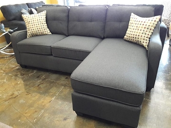 REVERSIBLE SECTIONAL DARK GRAY