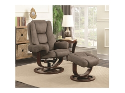 COASTER, GLIDER WITH OTTOMAN , 600096