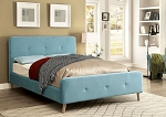 FURNITURE OF AMERICA, BARNEY QUEEN SIZE BED FRAME, CM7272BL