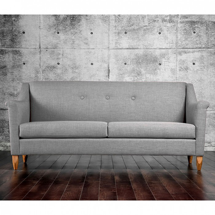 FURNITURE OF AMERICA, GRAY SOFA, SM8813