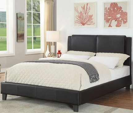 ACME, QUEEN BED BLACK, 26450