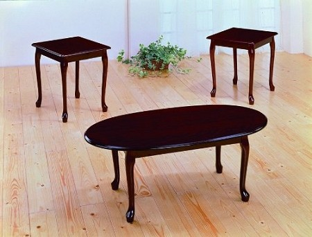 ASIA DIRECT 3 PCS SET TABLES, 1COFFEE TABLE+2END TABLES, 405A-CH