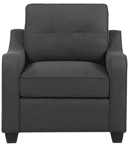 ACCENT CHAIR DARK GRAY