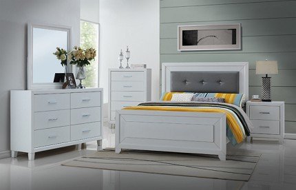 ASIA DIRECT, 6 PCS BEDROOM SET, 8020