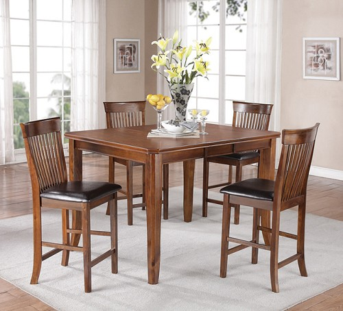 5PCS COUNTER TOP TABLE+4CHAIRS
