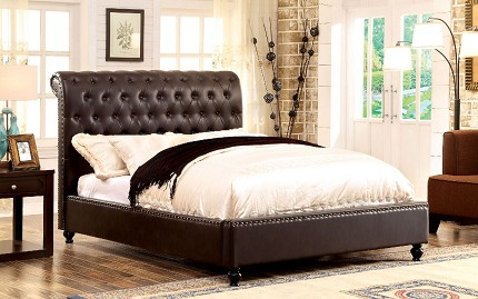 FURNITURE OF AMERICA, QUEEN BED ESPRESSO, CM7602BR