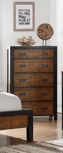 POUNDEX, 5 DRAWERS CHEST, F4872
