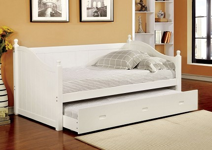WALCOTT TWIN / TWIN DAYBED WHITE FINISH