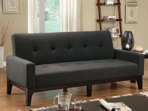 Furniture Of America Laporte Fabric Futon Sofa Bed Cm2450