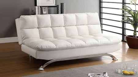 FURNITURE OF AMERICA, ARISTO FUTON SOFA BED, CM2906-WH