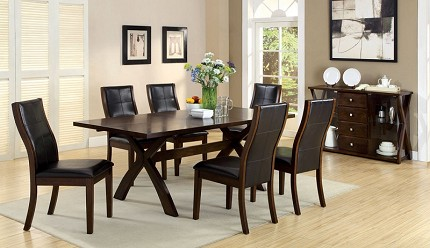 TORONTO 7PCS DINETTE SET + 6 SIDE CHAIRS