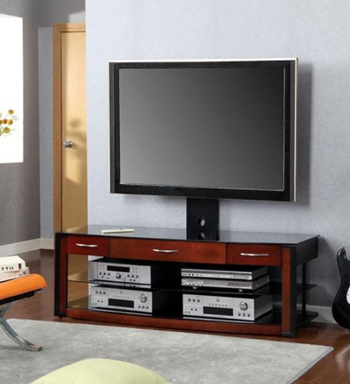 "FURNITURE OF AMERICA, PENARTH II 60"" TV STAND WITH MOUNT BRACKET, CM5003TV"
