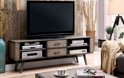 "FURNITURE OF AMERICA, VILHELM III 72"" TV CONSOLE, CM5360-TV"