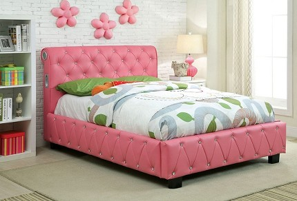 TWIN BED PINK COLOR BLUETOOTH SPEAKERS