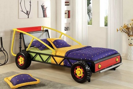 RACER RALLY RACER CAR DESIGN TWIN SIZE