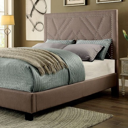 FURNITURE OF AMERICA MARIANNE QUEEN SIZE BED FRAME , CM7433BG
