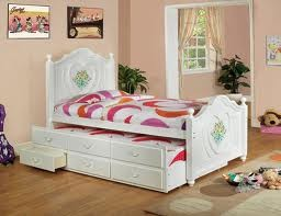 FURNITURE OF AMERICA, TWIN BED+TWIN TRUNDLE+3 DRAWERS, CM7619