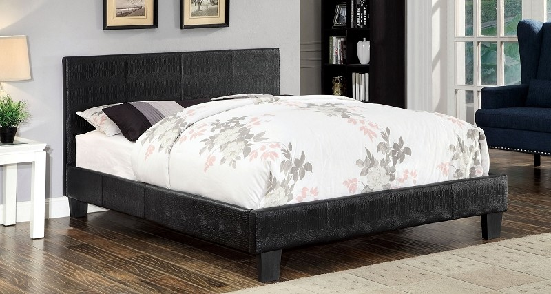 Eastern King Bed Black