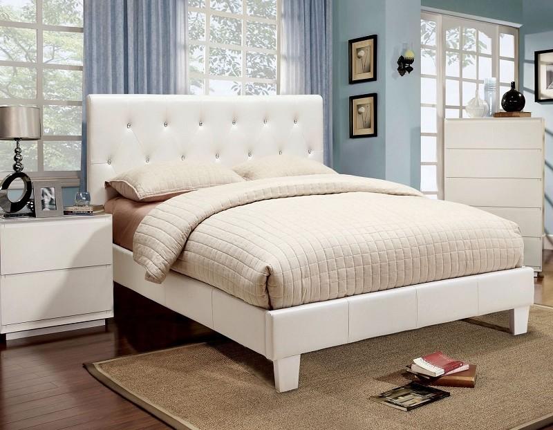 eastern king bed white. Black Bedroom Furniture Sets. Home Design Ideas