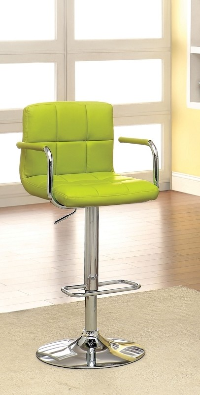 FURNITURE OF AMERICA, SWIVEL BAR STOOL WITH ARMREST, CM-BR6917LM