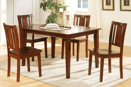 POUNDEX 5PC DINETTE SET, F2249