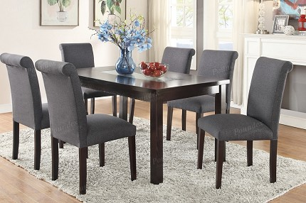 POUNDEX, 7PCS DINING SET, F2366, F1543