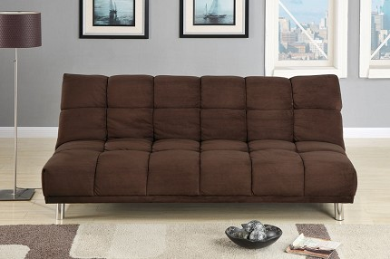 POUNDEX,  MICROFIBER ADJUSTABLE FUTON, F7217