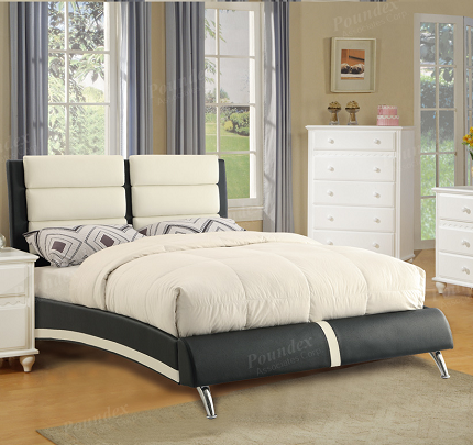 POUNDEX BRAND NEW QUEEN SIZE BED FRAME, F9341
